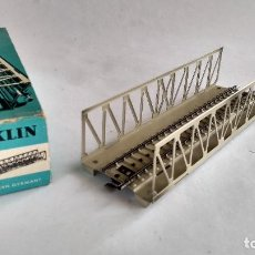 Trenes Escala: MARKLIN H0, REF 7162, PUENTE METÁLICO .. Lote 263150695