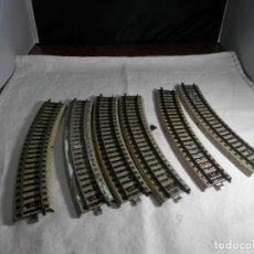 Trenes Escala: LOTE VIAS CURVAS ESCALA HO DE MARKLIN. Lote 265576119