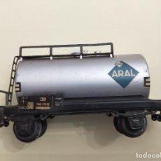 Trenes Escala: MARKLIN -REF 4500. VAGÓN CISTERNA ARAL DE LA DB.. Lote 266269398