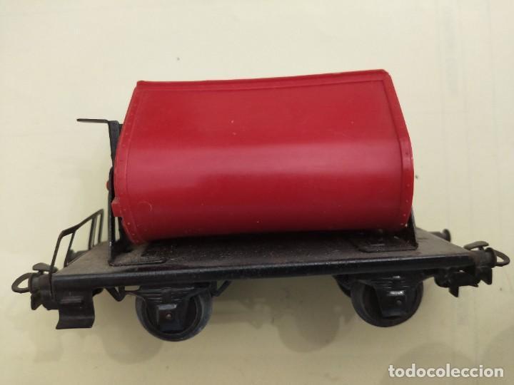 Trenes Escala: MARKLIN H0. ANTIGUO VAGON VAGONETA, REF. 4513. - Foto 2 - 266309703