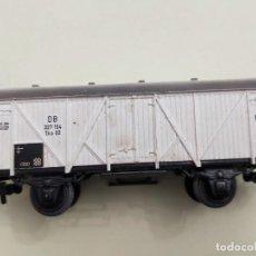 Trenes Escala: MARKLIN -DB 327 154. VAGON DE CARGA. Lote 266355448