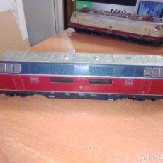 Trenes Escala: LOCOMOTORA DIÉSEL ELÉCTRICA - MARKLIN - DB V200056 - TREN ESCALA H0. Lote 266369493
