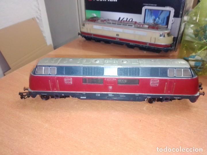 Trenes Escala: Locomotora Diésel Eléctrica - Marklin - DB V200056 - Tren Escala H0 - Foto 4 - 266369493