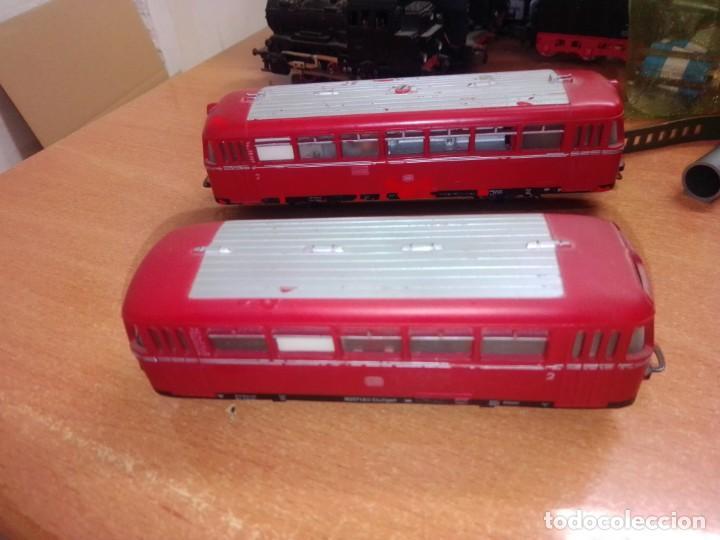 ANTIGUO RAILBUS MARKLIN CON REMOLQUE (Juguetes - Trenes a Escala - Marklin H0)