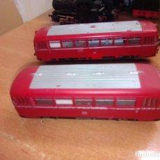 Trenes Escala: ANTIGUO RAILBUS MARKLIN CON REMOLQUE. Lote 266872179