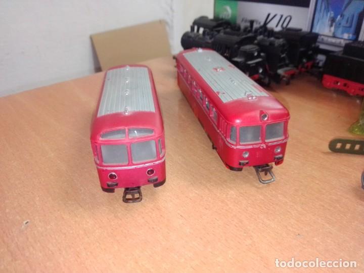 Trenes Escala: Antiguo Railbus Marklin con remolque - Foto 3 - 266872179