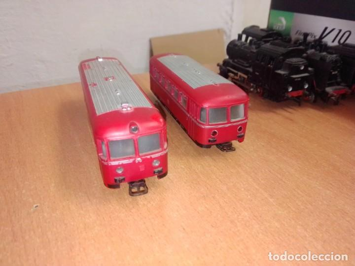 Trenes Escala: Antiguo Railbus Marklin con remolque - Foto 5 - 266872179