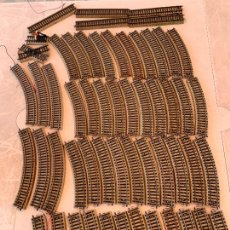 Trenes Escala: MARKLIN H0 LOTE DE 53 VIAS. Lote 268867929