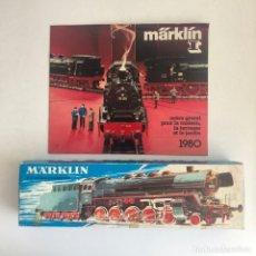 Trenes Escala: NUEVO LISTING: PERFECTA LOCOMOTORA A VAPOR MARKLIN. 1970'S GUTERZUGLOCOMOTIVE. HUMO.. Lote 268891444