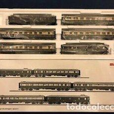Trenes Escala: MÄRKLIN RHEINGOLD. TREN DE PASAJEROS HO. Lote 268978404