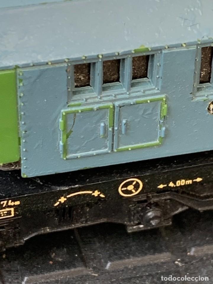 Trenes Escala: GRUA VAGON TREN MADE IN GERMANY KRANWAGEN MARKLIN ESCALA HO 14X9CMS - Foto 12 - 269101108