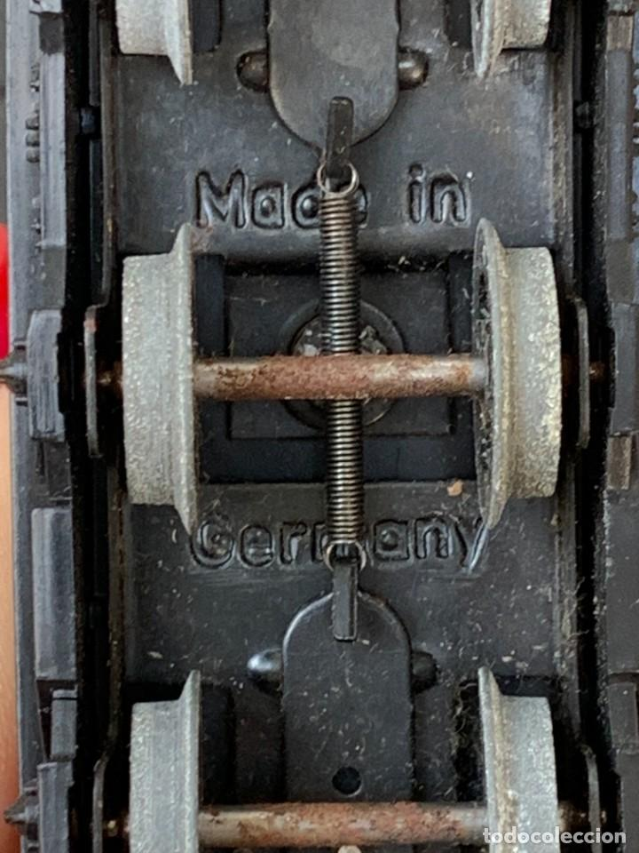 Trenes Escala: GRUA VAGON TREN MADE IN GERMANY KRANWAGEN MARKLIN ESCALA HO 14X9CMS - Foto 20 - 269101108