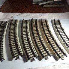 Trenes Escala: LOTE VIAS CURVAS ESCALA HO DE MARKLIN PRIMEX. Lote 269293073