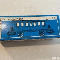 Trenes Escala: MARKLIN H0 - CAJA VACIA PARA VAGON PASAJEROS REF. 4040. Lote 271619868