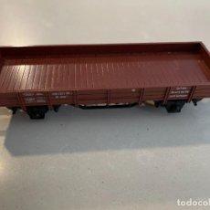 Trenes Escala: MARKLIN H0 - VAGON MERCANCIAS ABIERTO BORDE BAJO. Lote 271622538