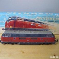 Trenes Escala: MÄRKLIN 3021 DIESELLOK LOCOMOTORA LOCOMOTIVE MARKLIN - NO PROBADO. Lote 271862413