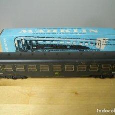 Trenes Escala: MÄRKLIN 4069 BELGIAN TRAIN LOUNGE COACH VAGON MARKLIN - NO PROBADO. Lote 271862623
