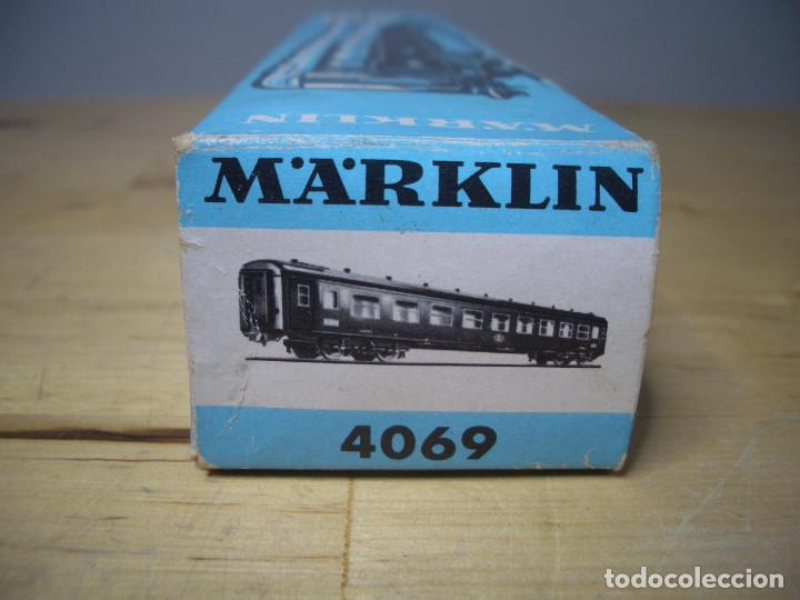 Trenes Escala: MÄRKLIN 4069 BELGIAN TRAIN LOUNGE COACH VAGON MARKLIN - NO PROBADO - Foto 12 - 271862623