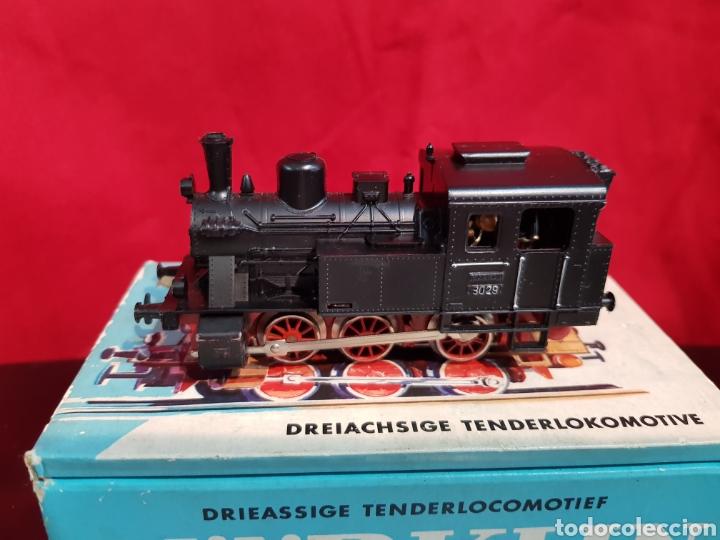 Trenes Escala: M69 Locomotora Maquina nº 3029 en caja marca Marklin. Perfecto estado - Foto 2 - 272639548