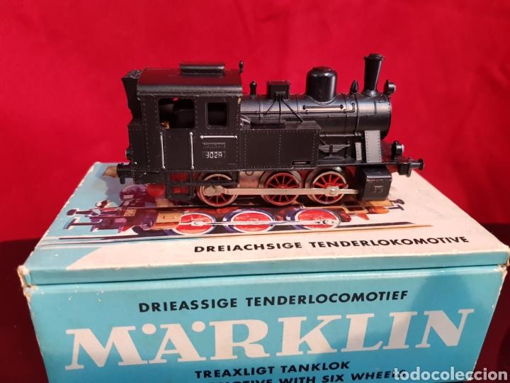 Trenes Escala: M69 Locomotora Maquina nº 3029 en caja marca Marklin. Perfecto estado - Foto 3 - 272639548