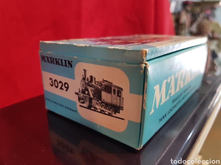 Trenes Escala: M69 Locomotora Maquina nº 3029 en caja marca Marklin. Perfecto estado - Foto 4 - 272639548