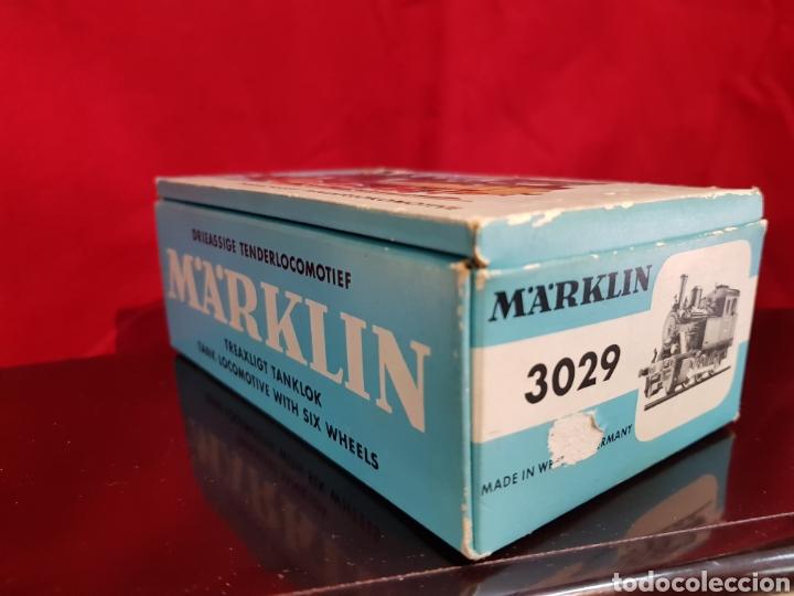 Trenes Escala: M69 Locomotora Maquina nº 3029 en caja marca Marklin. Perfecto estado - Foto 5 - 272639548