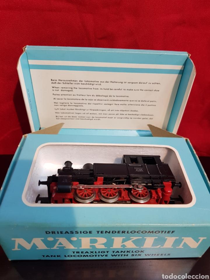 Trenes Escala: M69 Locomotora Maquina nº 3029 en caja marca Marklin. Perfecto estado - Foto 6 - 272639548