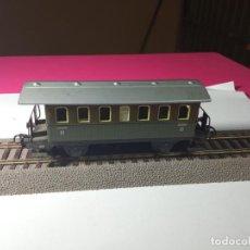 Comboios Escala: VAGÓN PASAJEROS 2 EJES ESCALA HO DE MARKLIN METALICO. Lote 273294123