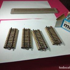 Trenes Escala: LOTE VIAS ESCALA HO DE MARKLIN. Lote 274831168