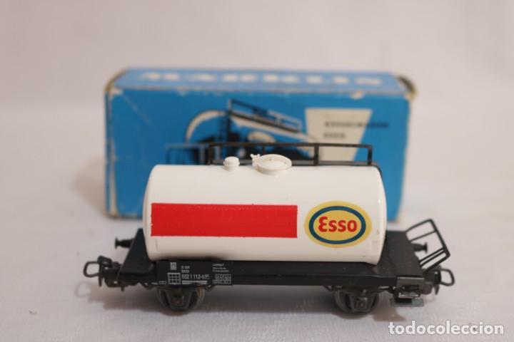 Trenes Escala: MARKLIN VAGÓN EN CAJA REF. 4501 .FUNCIONA - Foto 2 - 274924648
