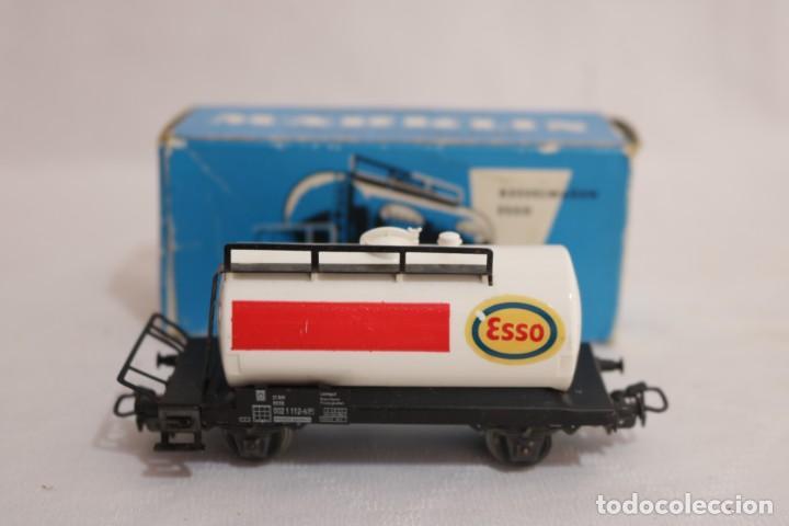 Trenes Escala: MARKLIN VAGÓN EN CAJA REF. 4501 .FUNCIONA - Foto 3 - 274924648