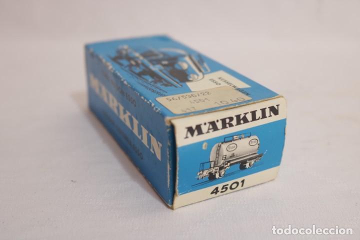 Trenes Escala: MARKLIN VAGÓN EN CAJA REF. 4501 .FUNCIONA - Foto 5 - 274924648
