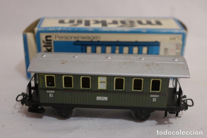 Trenes Escala: MARKLIN VAGÓN EN CAJA REF. 4040 .FUNCIONA - Foto 3 - 274924958
