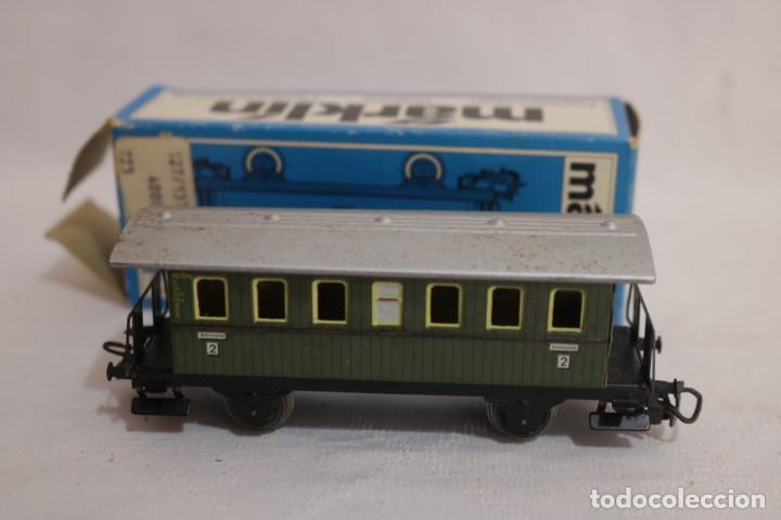 Trenes Escala: MARKLIN VAGÓN EN CAJA REF. 4040 .FUNCIONA - Foto 2 - 274925203