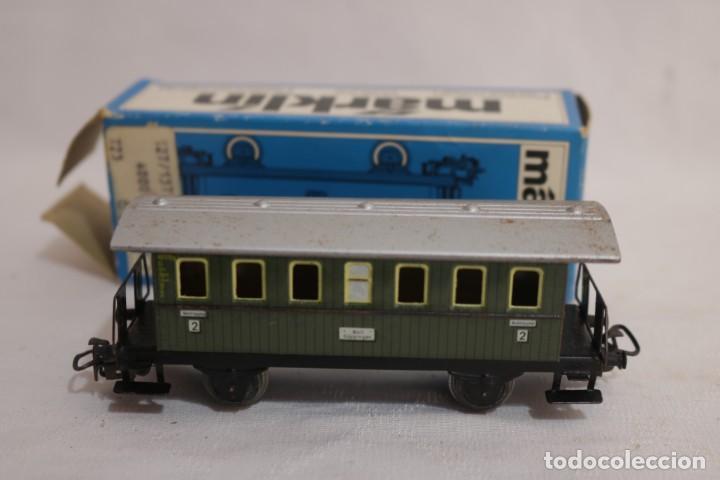 Trenes Escala: MARKLIN VAGÓN EN CAJA REF. 4040 .FUNCIONA - Foto 3 - 274925203