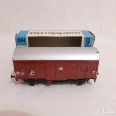 Trenes Escala: MARKLIN VAGÓN EN CAJA REF. 4410 .FUNCIONA. Lote 274925343