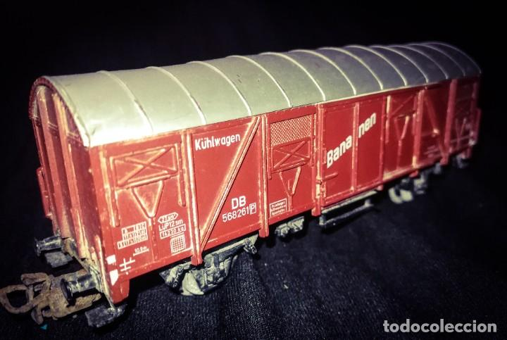 MARKLIN, VAGON FRIGORÍFICO CERRADO DE LA DB, ESCALA H0. (Juguetes - Trenes a Escala - Marklin H0)