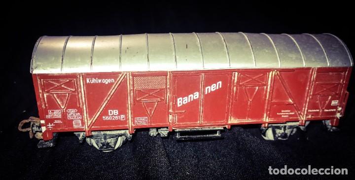 Trenes Escala: MARKLIN, Vagon frigorífico cerrado de la DB, escala H0. - Foto 2 - 275167348