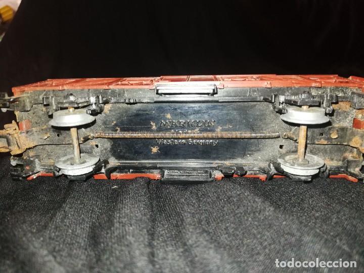 Trenes Escala: MARKLIN, Vagon frigorífico cerrado de la DB, escala H0. - Foto 7 - 275167348