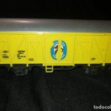 Trenes Escala: MARKLIN, VAGON FRIGORÍFICO CERRADO, BANANAS ECUADOR, REF 4414,ESCALA H0.. Lote 275167943