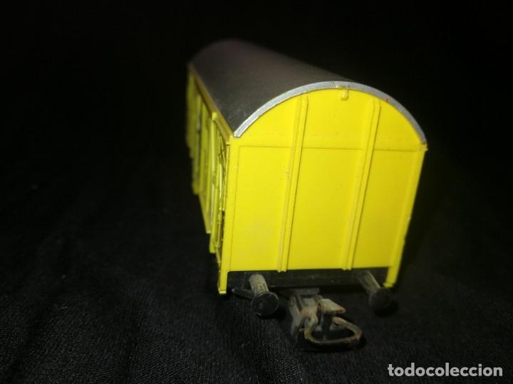Trenes Escala: MARKLIN, Vagon FRIGORÍFICO cerrado, BANANAS ECUADOR, REF 4414,escala H0. - Foto 5 - 275167943