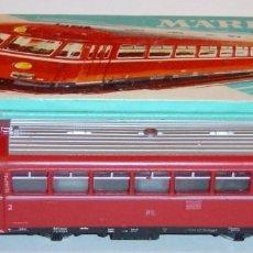 Trenes Escala: MARKLIN HO, FERROBÚS DIGITAL SERIE 795 DB REF. 3016, ¡DECODER A ELEGIR!. Lote 276998678