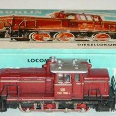 Trenes Escala: MARKLIN HO, LOCOMOTORA DIGITAL CON TELEX V60 1009 REF. 3065, ¡DECODER A ELEGIR!. Lote 277019368