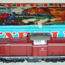 Trenes Escala: MARKLIN HO, LOCOMOTORA DIESELSERIE 212 DB REF.3072, MOTOR NUEVO 5 POLOS, DIGITAL. Lote 277035323