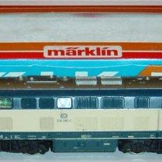 Trenes Escala: MARKLIN HO, LOCOMOTORA DIESEL REF. 3074 CON MOTOR NUEVO DE 5 POLOS, ¡DIGITAL!. Lote 277035493