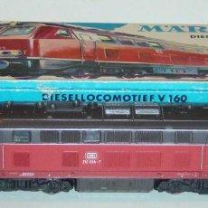 Trenes Escala: MARKLIN HO, LOCOMOTORA EXCELENTE DIGITAL BR216 068-7 REF.3075 ¡DECODER A ELEGIR!. Lote 277060818