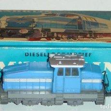 Trenes Escala: MARKLIN HO, LOCOMOTORA DIESEL DIGITAL DHG 500 REF. 3078, ¡DECODER A ELEGIR!. Lote 277061303