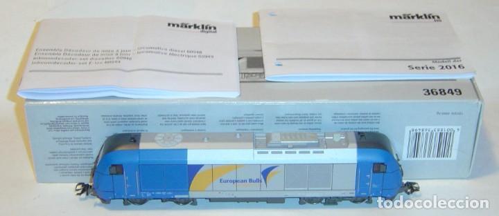 MARKLIN HO, LOCOMOTORA EXCELENTE REIHE 2016 REF. 36849 ¡DIGITAL MFX CON SONIDO! (Juguetes - Trenes a Escala - Marklin H0)