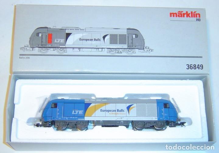 Trenes Escala: MARKLIN HO, LOCOMOTORA EXCELENTE REIHE 2016 REF. 36849 ¡DIGITAL MFX CON SONIDO! - Foto 4 - 277064413