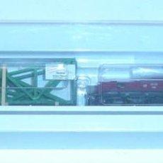 Trenes Escala: MÄRKLIN HO, VAGÓN PLATAFORMA CON TELEROS RF.46362 CON CARGA DE CERCHAS, CON CAJA. Lote 277562513